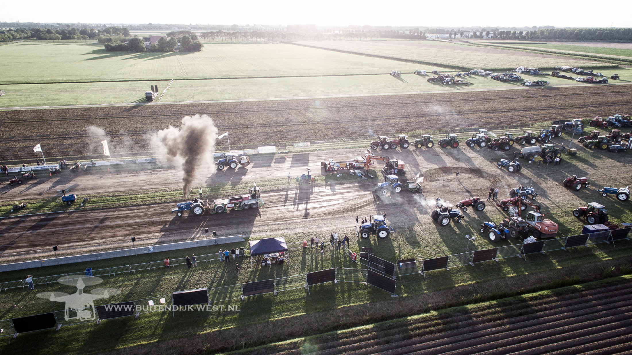 tractorpulling van boven